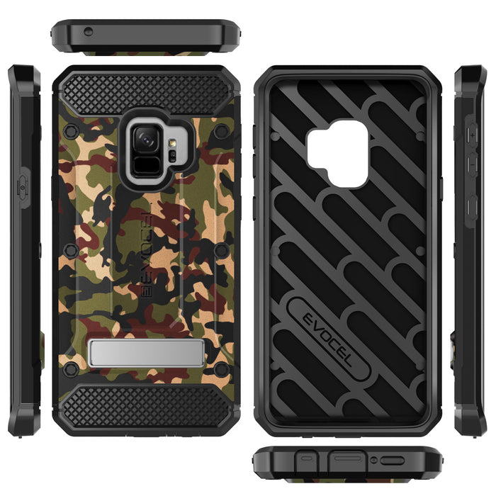 Evocel Samsung Galaxy S9 Explorer Series Pro Camouflage Case
