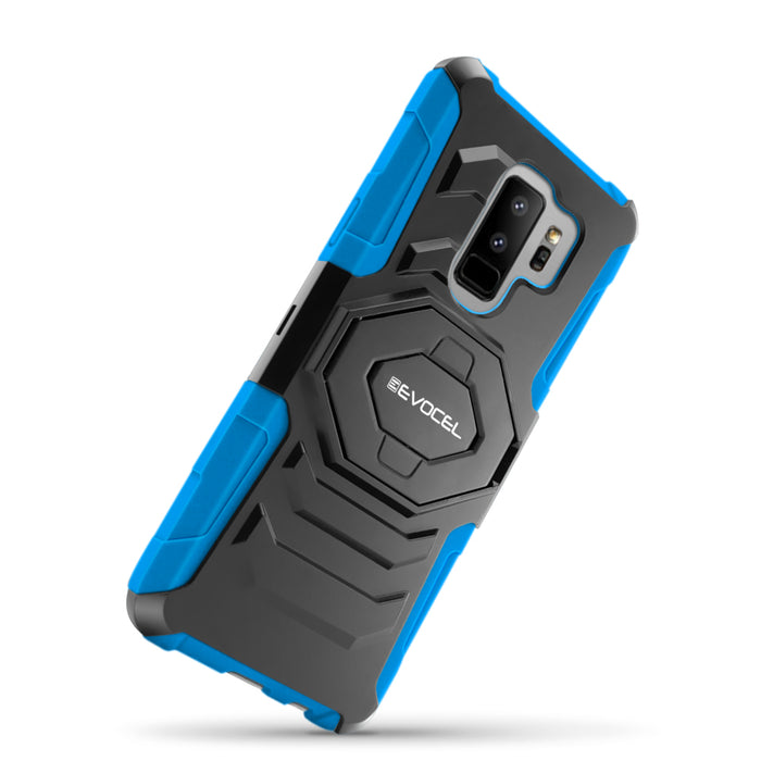 Evocel Samsung Galaxy S9 Plus New Generation Series Blue Case