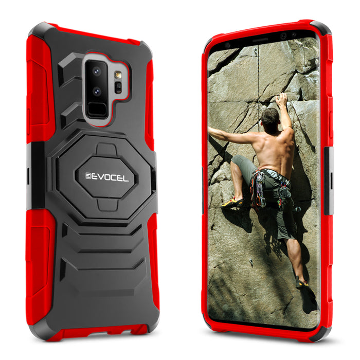Evocel Samsung Galaxy S9 Plus New Generation Series Red Case