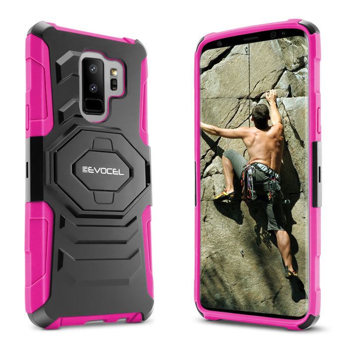 Evocel Samsung Galaxy S9 Plus New Generation Series Pink Case