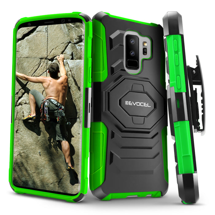 Evocel Samsung Galaxy S9 Plus New Generation Series Green Case