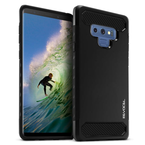 Evocel Samsung Galaxy Note 9 Dual Lite Series Black Case