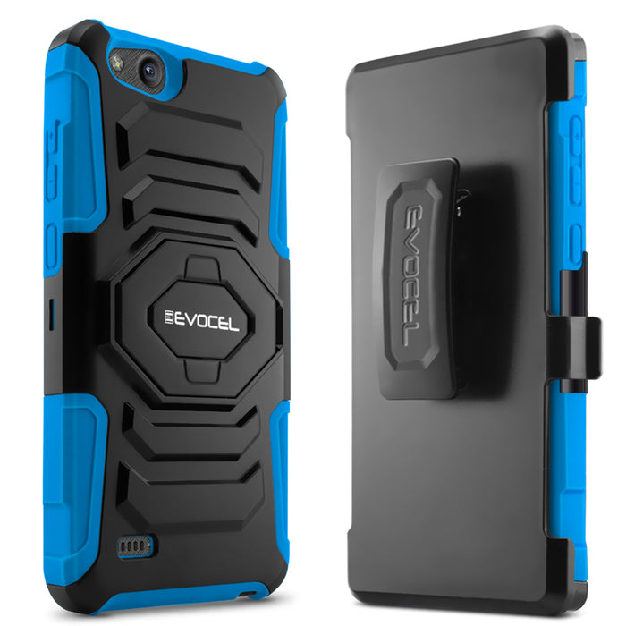Evocel ZTE Tempo X New Generation Series Blue Case