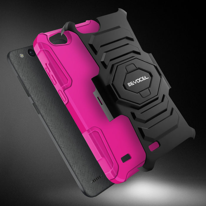 Evocel ZTE Tempo X New Generation Series Pink Case