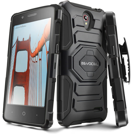 Evocel ZTE Prestige New Generation Series Black Case