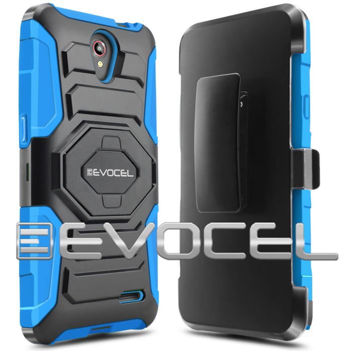 Evocel ZTE Prestige New Generation Series Blue Case