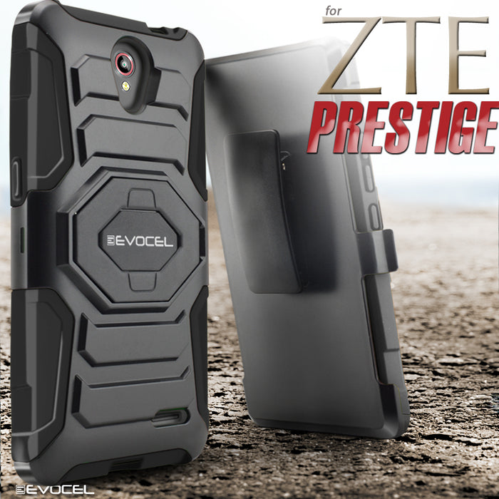 Evocel ZTE Prestige New Generation Series Red Case