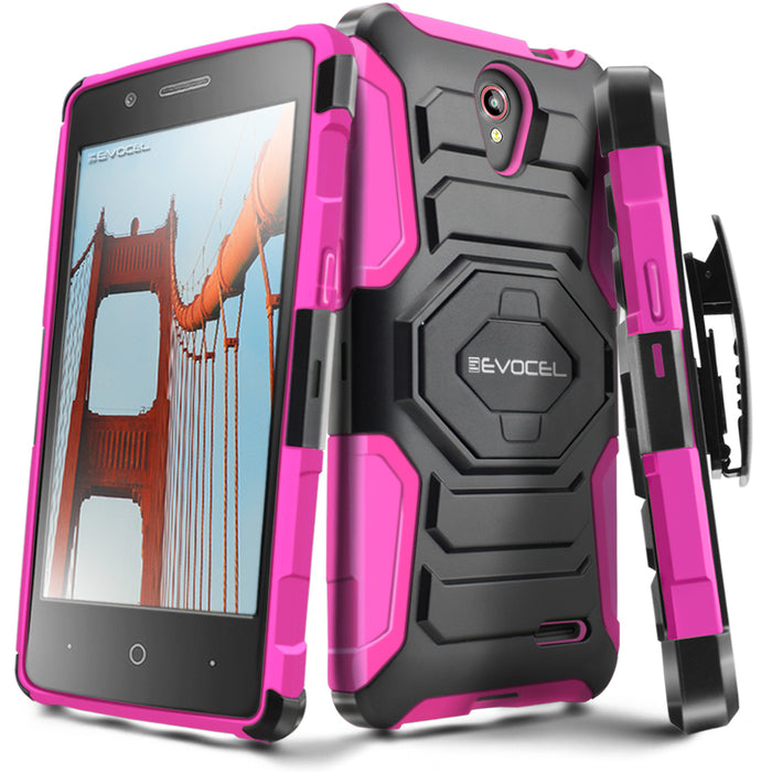 Evocel ZTE Prestige New Generation Series Pink Case