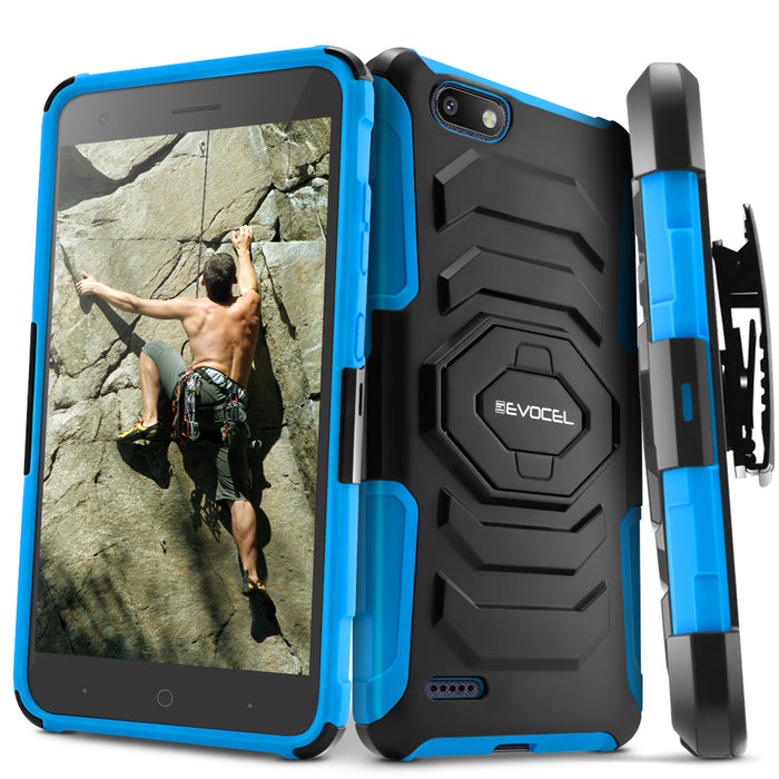 Evocel ZTE Blade Force New Generation Series Blue Case