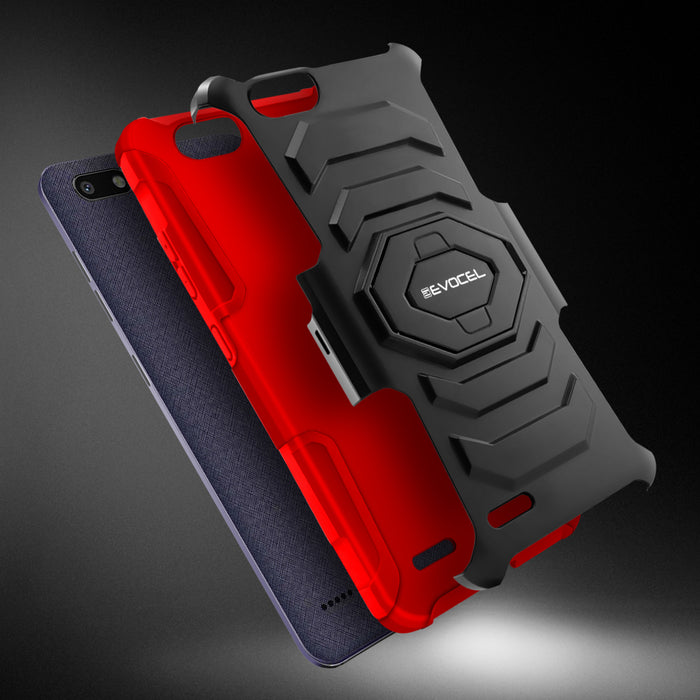 Evocel ZTE Blade Force New Generation Series Red Case