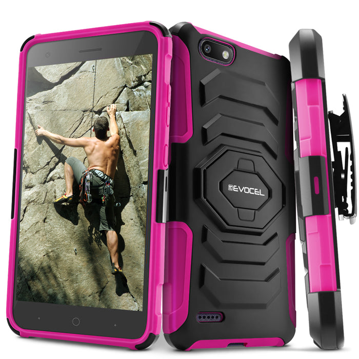 Evocel ZTE Blade Force New Generation Series Pink Case