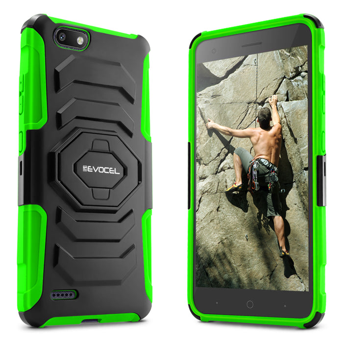 Evocel ZTE Blade Force New Generation Series Green Case