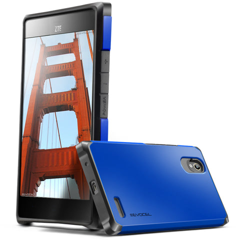 Evocel ZTE Warp Elite Armure Series Blue Case