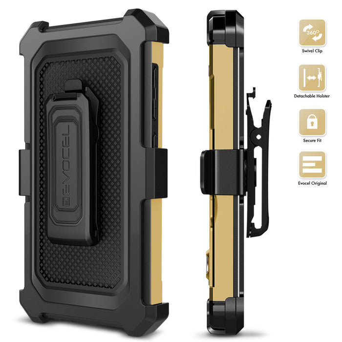 Evocel ZTE MAX XL Explorer Series Pro Gold Case