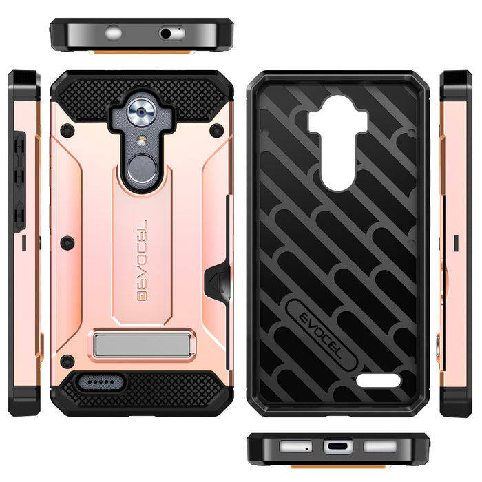 Evocel ZTE MAX XL Explorer Series Pro Rose Gold Case