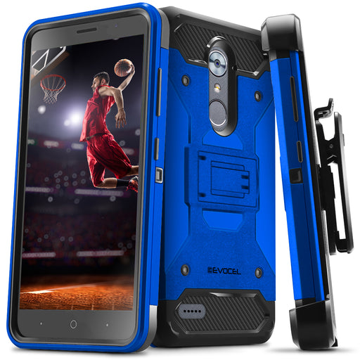 Evocel ZTE MAX XL Trio Pro Series Blue Case