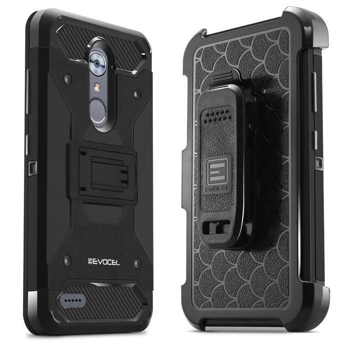 Evocel ZTE MAX XL Trio Pro Series Black Case
