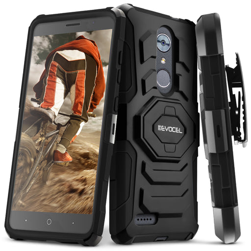 Evocel ZTE MAX XL New Generation Series Black Case