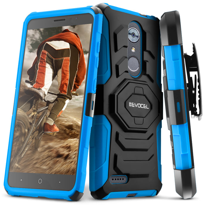 Evocel ZTE MAX XL New Generation Series Blue Case
