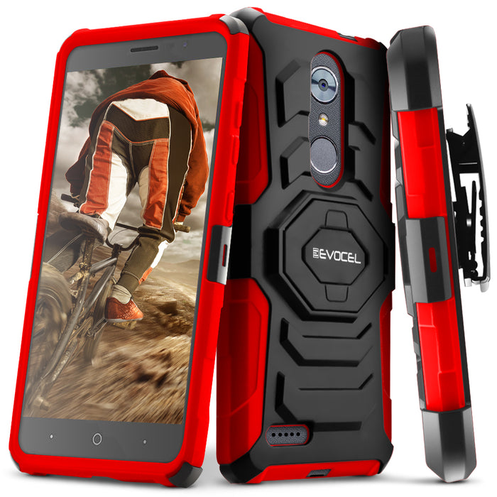 Evocel ZTE MAX XL New Generation Series Red Case