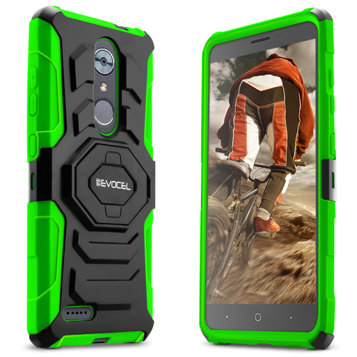 Evocel ZTE MAX XL New Generation Series Green Case