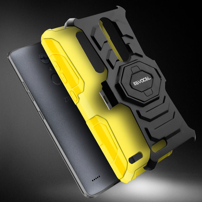 Evocel ZTE MAX XL New Generation Series Yellow Case