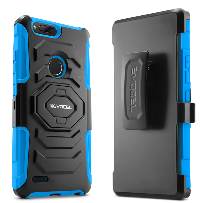 Evocel ZTE Blade Z Max New Generation Series Blue Case