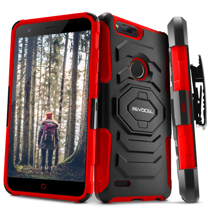 Evocel ZTE Blade Z Max New Generation Series Red Case