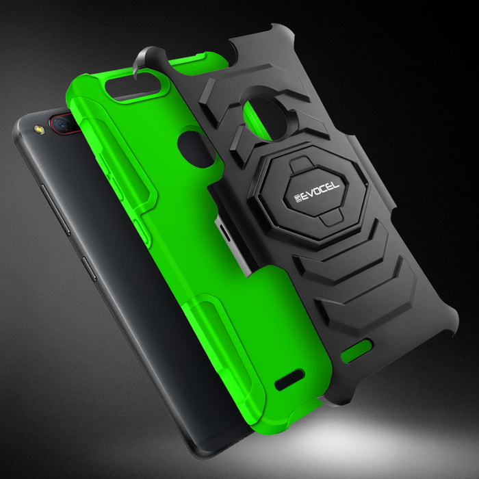 Evocel ZTE Blade Z Max New Generation Series Green Case