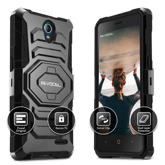 Evocel ZTE Avid Trio New Generation Series Black Case