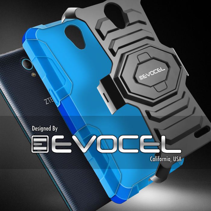 Evocel ZTE Avid Trio New Generation Series Blue Case