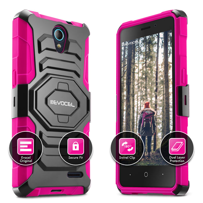Evocel ZTE Avid Trio New Generation Series Pink Case