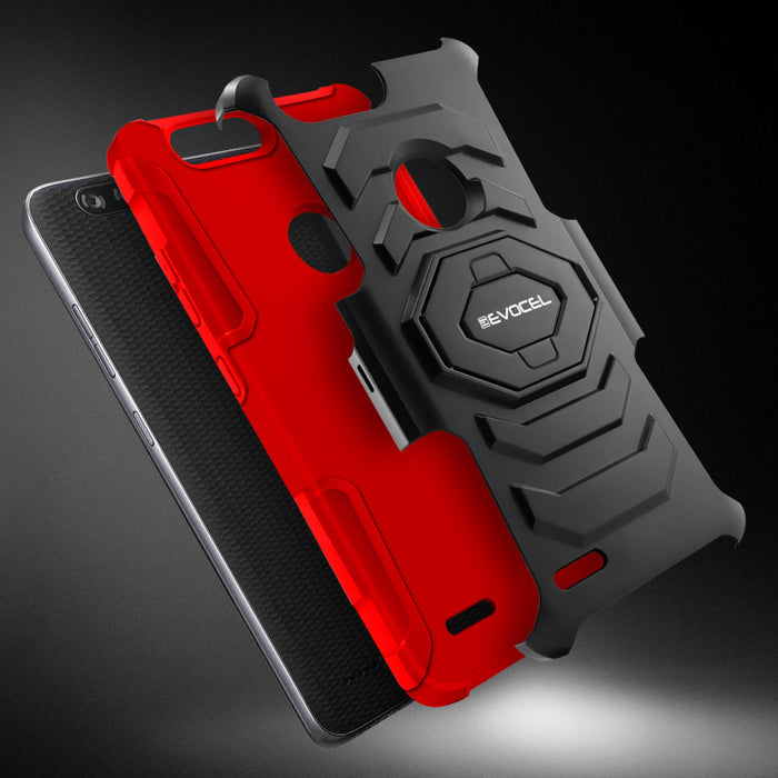 Evocel ZTE Blade X2 Max New Generation Series Red Case
