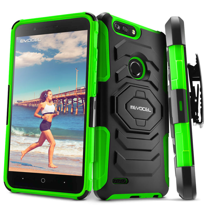 Evocel ZTE Blade X2 Max New Generation Series Green Case