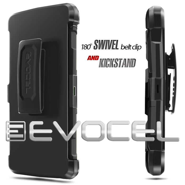 Evocel ZTE ZMAX 2 Generation Series Black Case