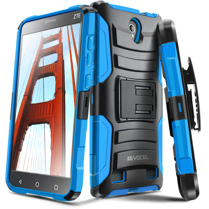 Evocel ZTE ZMAX 2 Generation Series Blue Case