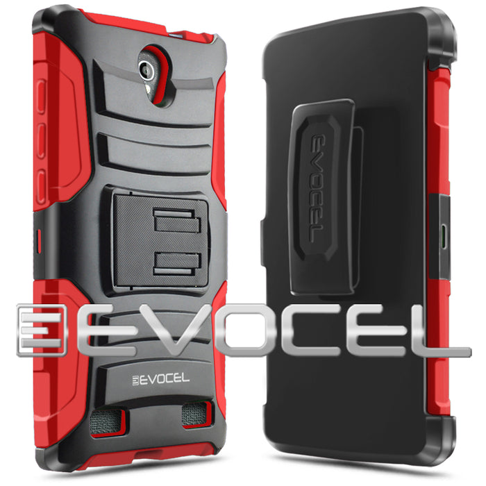 Evocel ZTE ZMAX 2 Generation Series Red Case