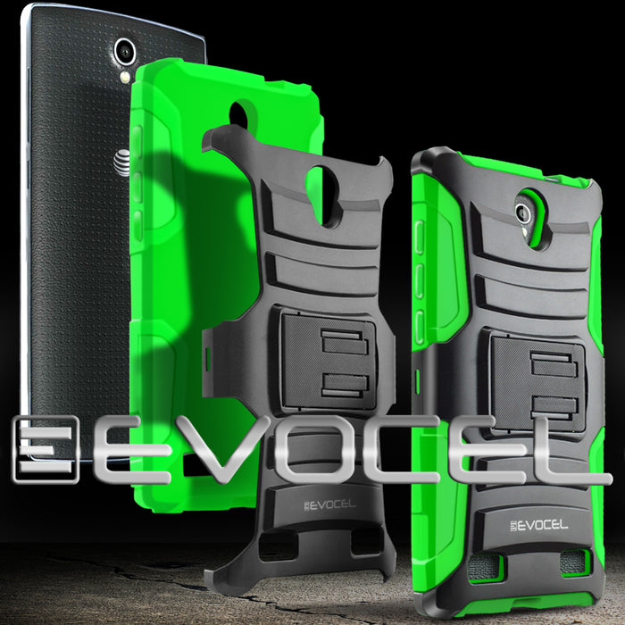 Evocel ZTE ZMAX 2 Generation Series Green Case