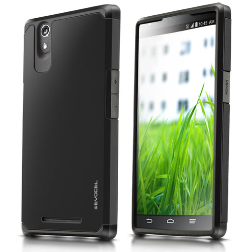 Evocel ZTE ZMAX Armure Series Charcoal Case