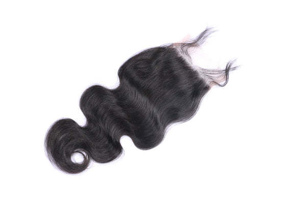 4x4 Brazilian BodyWave Closure
