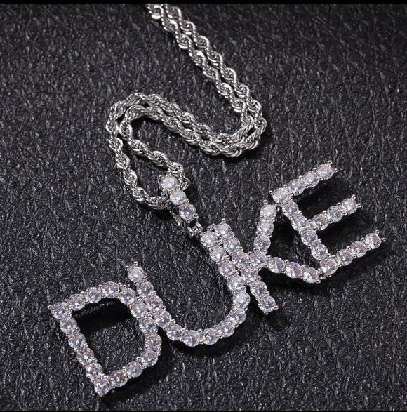 Ice Me Out Custom Name Necklace