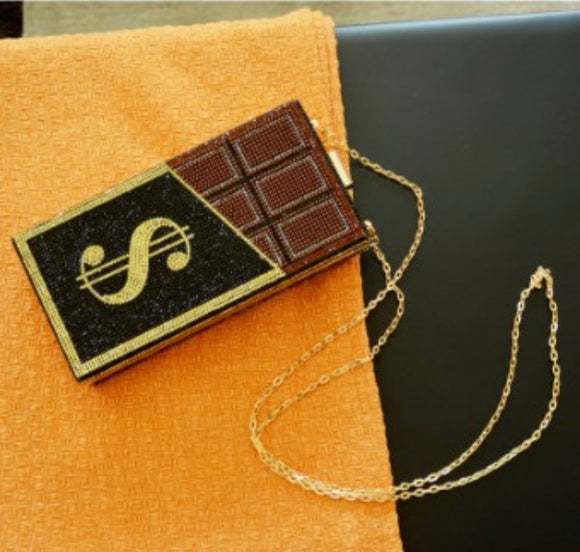 Chocolate Drop Purse