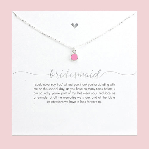 fireball bridesmaids by necklace necklaces bride tear l crystal drop jewelry bridesmaid rhinestone and