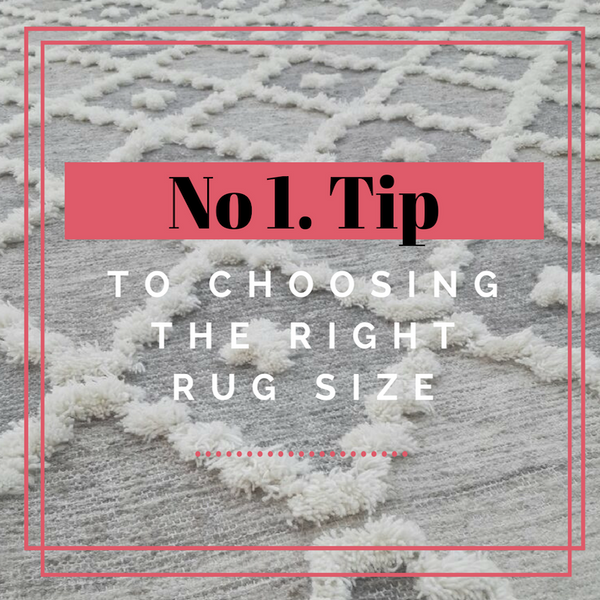One Quick Tip - What Size Rug Do I Need?