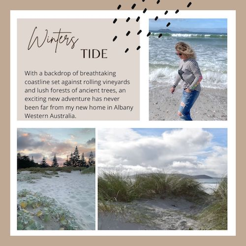 Winters Tide - my rug collections inspired by my Albany seachange