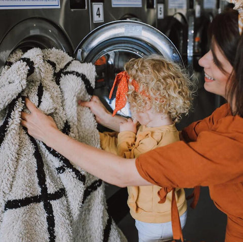 Wash your rugs at home