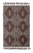 Adilah - Cherry Rust Wool Rug - Happy as Larry