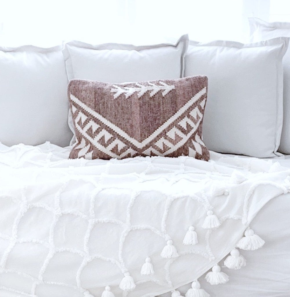 Adilah Handwoven Cushion - Happy as Larry