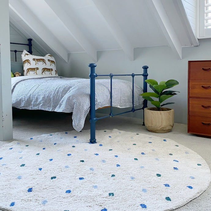 Boys Room Dotty Rug