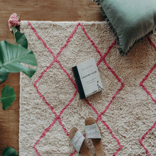 Cotton Berber Rugs - Pink - Happy as Larry